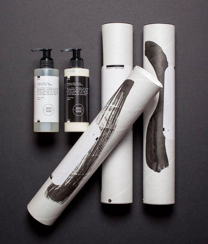 Föllinge skincare packaging // Amore