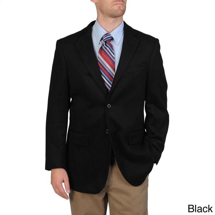 Pronto Moda Men's Wool/ Blend Sportcoat (-36R)