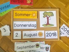 Calendar for the classroom – Mrs Locke