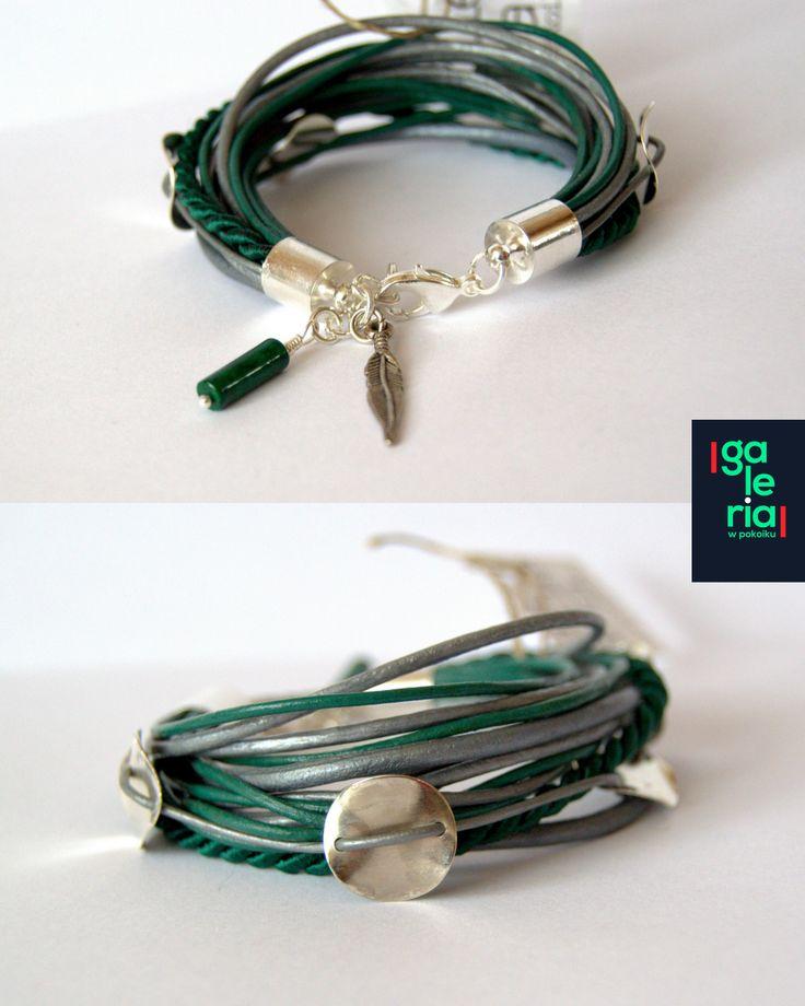 Emerald bracelets from ----> https://www.facebook.com/galeriawpokoiku
