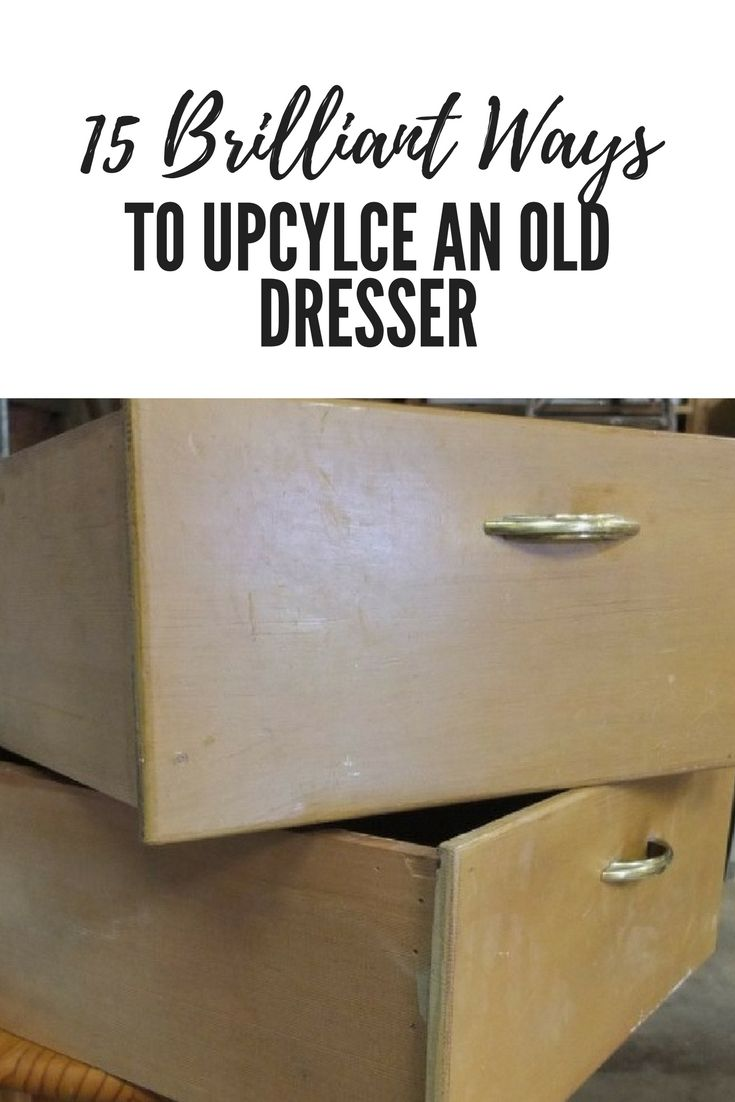 Mom Buys Old Dresser At Garage Sale For 10 Transforms It Into A