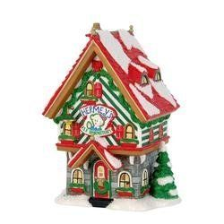 """Rudolph the Red Nosed Reindeer """"Hermey's Elf Dormitory"""" Christmas Village Lighted Building"""