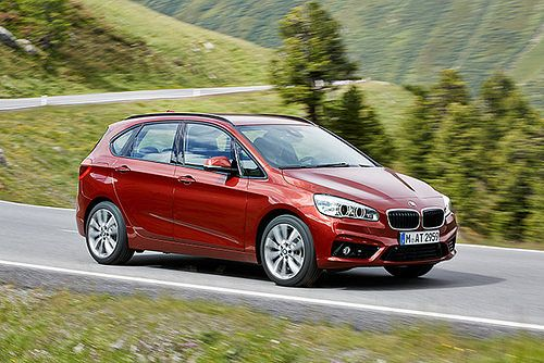 The 2 Series Active Tourer from BMW is practical and at the same time equipped with premium features. Perfect for family needs. Launching in 2015.
