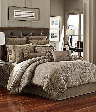J Queen New York Villeroy Mink Comforter Set Dillards