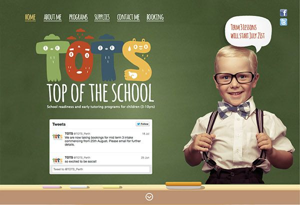 TOTS - Top Of The School on Behance