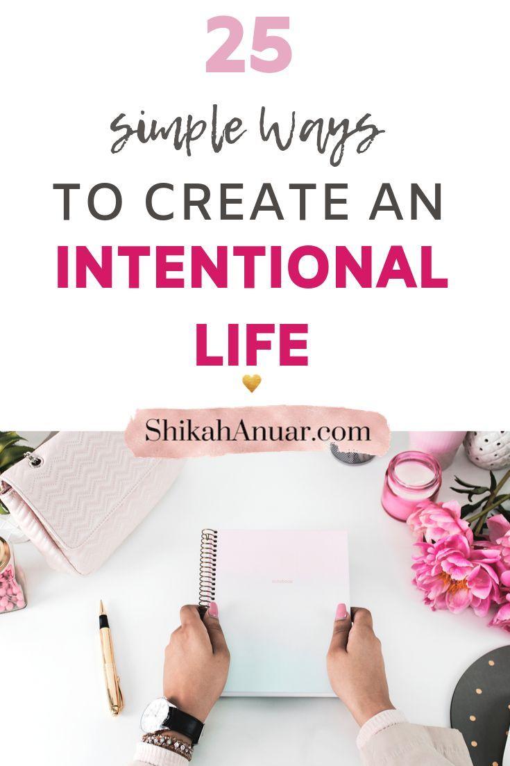 Ich habe ein druckfähiges, 25 Tage absichtliches Leben erstellt, um Ihnen den Start zu erleichtern …   – A Journey of Intentional Self Improvement