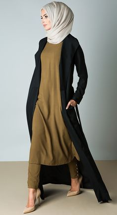Slip Dress/ -I love this outfit!!!!!   The colors the length and the fabric looks so comfortable and elegant!!!