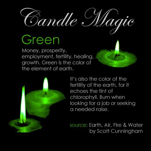 Green candle #greencandle #candlemagic