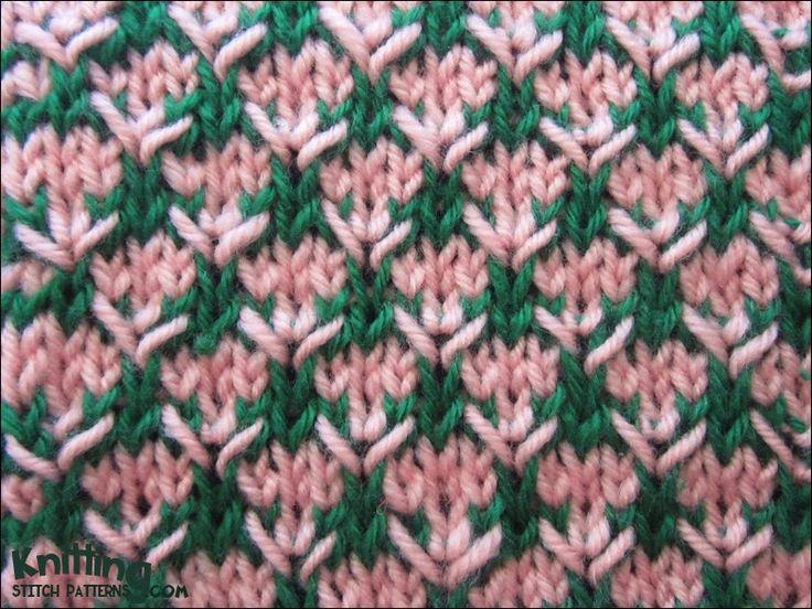 Multi-colour Thorn Stitch