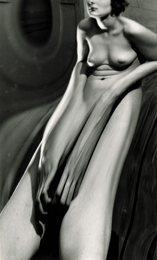 André Kertész, Distortion #65 (1933) Elongated forms remind me of the copies I made whilst moving an image on the photocopier