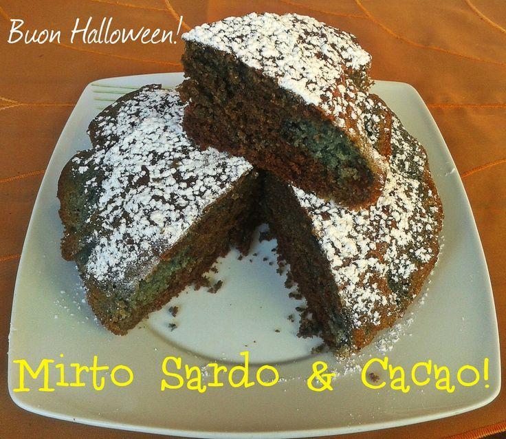 Fornelli&Capricci: Muffa cake (mirto sardo e cacao)