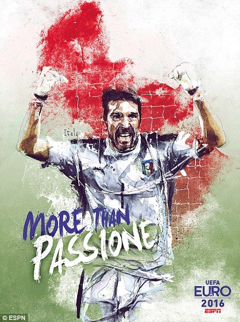Juventus star Gianluigi Buffon keeps goal for Italy once again