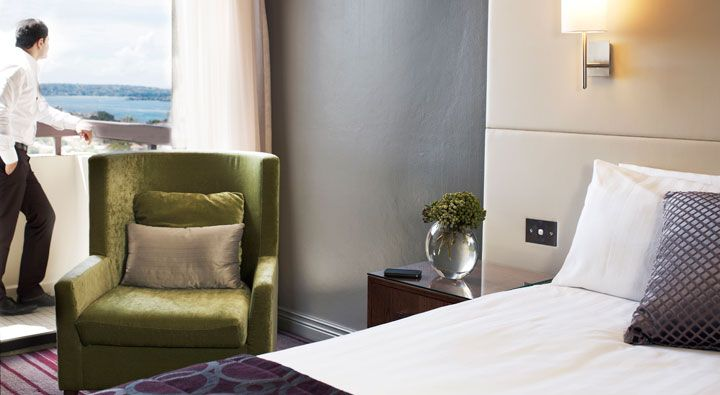 A Waterview Queen Room at Rydges North #Sydney. #Hotel