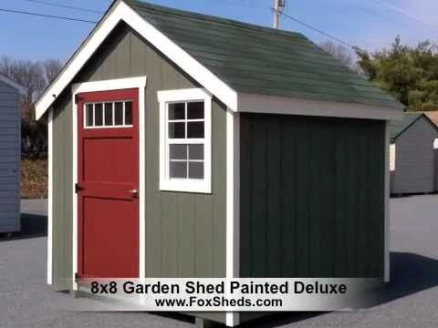 Garden Sheds 8x8 12 best painted sheds images on pinterest