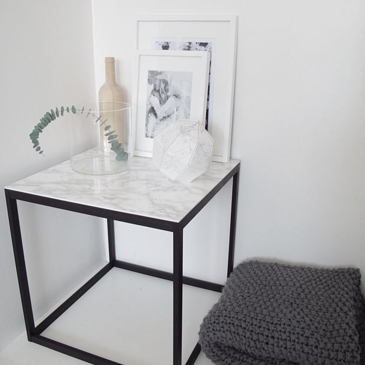 Love this marble table!