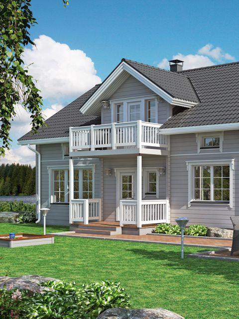 Kontion Kimallus oli yksi niistä talomalleista, jotka Kontion mallistossa miellyttivät.