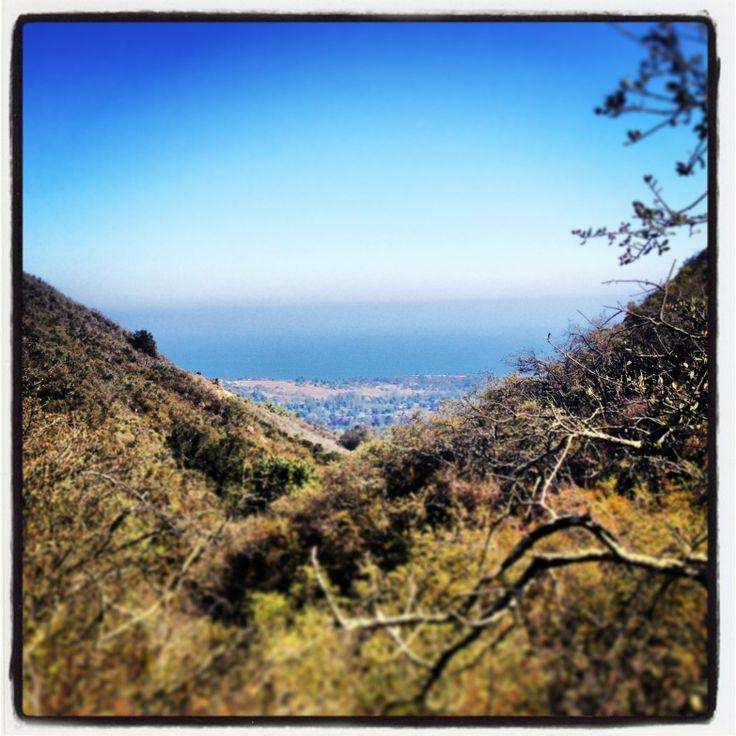 hiking Montecito, California