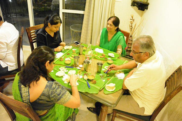 #Enjoying #traditional #onam meal !