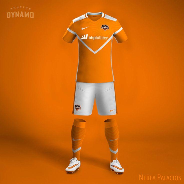 Nike MLS Concept Kits by Nerea Palacios | Houston Dynamo