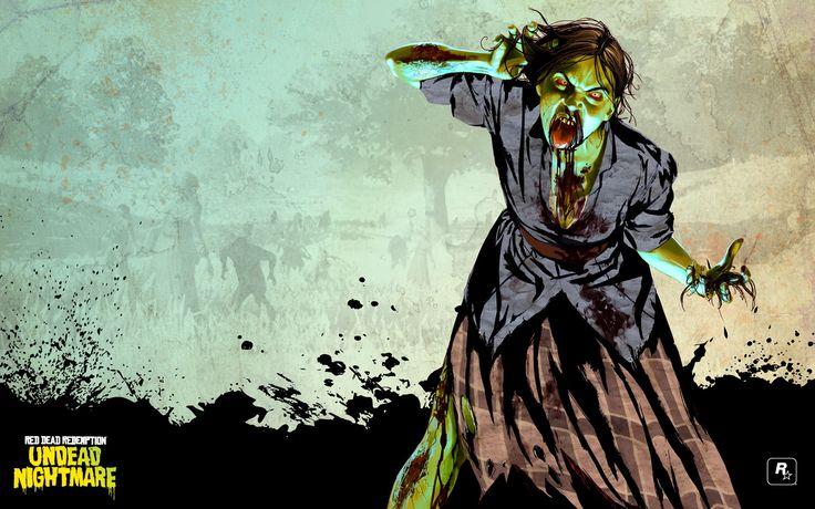 Red Dead Redemption: Undead Nightmare wallpaper backgrounds hd, 550 kB - Halley Sheldon