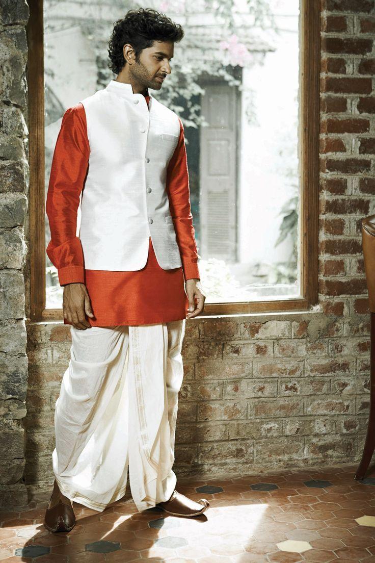 Bandi, the Indian waistcoat. Nehru jacket