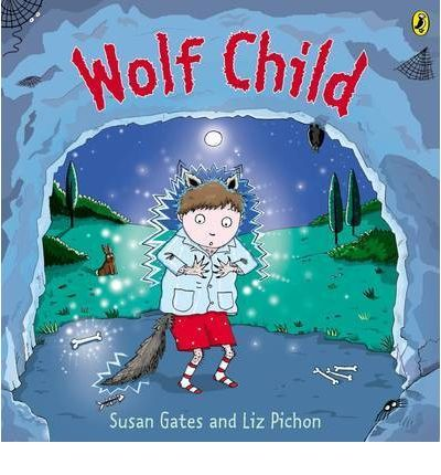 Small wolf loves being a wolf. He howls at the moon, he sniffs pongy things and he lives in a messy cave. But one night something very strange happens and small wolf's paws turn into hands, his ears shrink and all his furs disappears. Ages 2-7.