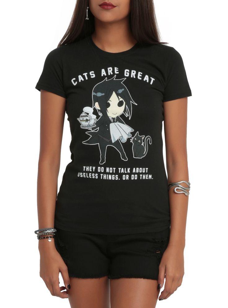 black butler anime shirt