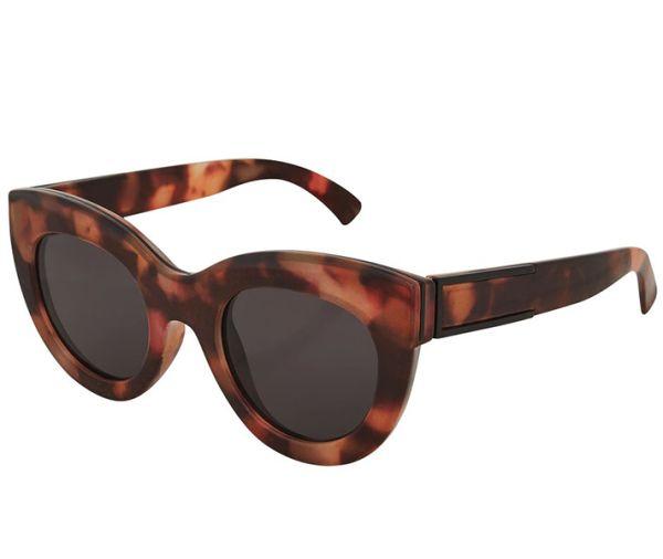 Popular Sunglasses: Oversized Brown TopshopChunky Cateye Sunglasses