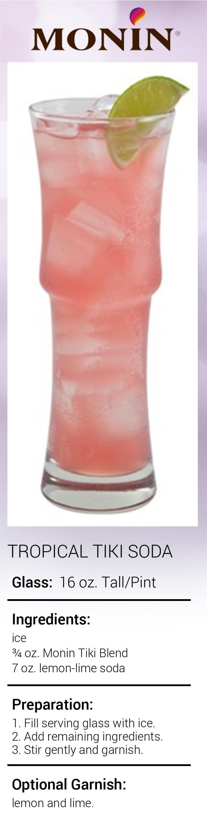 Tropical Tiki Soda