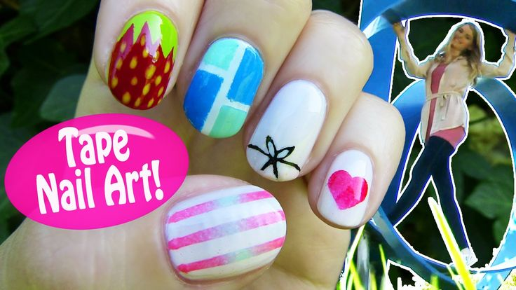 Scotch tape can be used in many ways. In this nail art tutorial, I show how to use scotch tape in nail art. You'll learn that scotch tape is an awesome nail art tool, since it allows to paint perfect lines and shapes.
