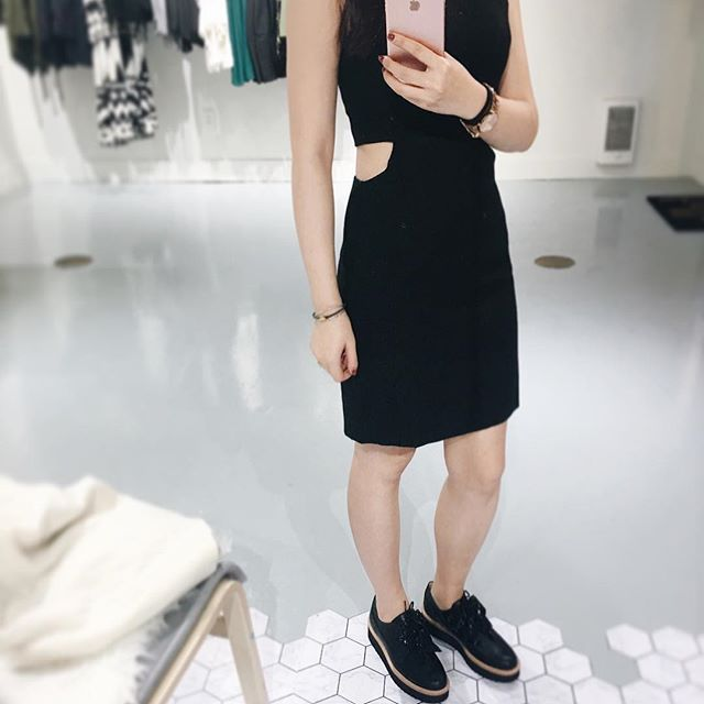 """""""One is never over-dressed or underdressed with a little black dress."""" You can never have too many LBDs!   Available in store and online!  .  .  .  .  .  .  .  #unicorniostudio #lbd #fashionboutique #fashioninspo #womensfashion #lookbook #ootd #ootdfashion #outfitselfie #ootdinspo #ootdideas #shoplocal #shopsmall #yyt"""
