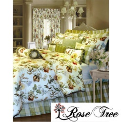 @Overstock - Escape to a lush garden every time you step into your bedroom with this English Garden comforter set. This spirited bedding collection showcases bright florals and lively greenery stretched across a cream background.  http://www.overstock.com/Bedding-Bath/Rose-Tree-English-Garden-Queen-size-Comforter-Set/5309374/product.html?CID=214117 $119.99