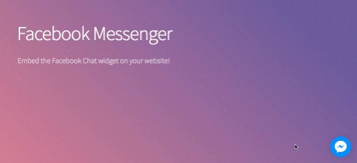 How to Add  the Facebook Messenger Chat Widget in your Website