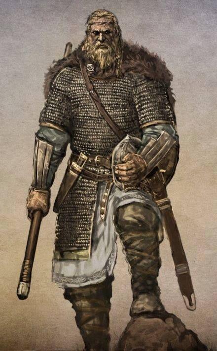 halv Jotun heathen army group leader