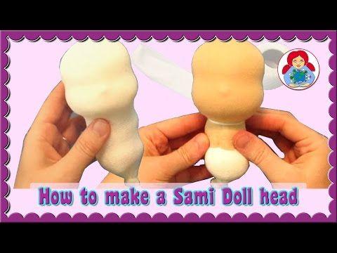 DIY | How to make a cloth doll head Step by Step • Sami Dolls Tutorials - YouTube