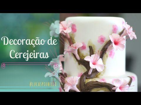 Bolo com Rosas de Glacê Real - YouTube