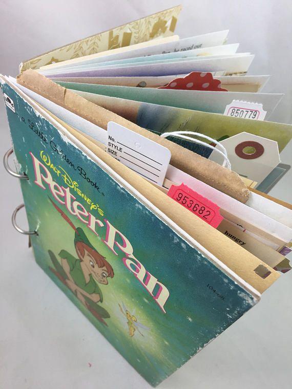 Junk Journal Smash Book Art Journal Little Golden Book Altered