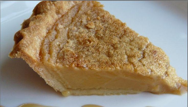 Elle est tout simplement parfaite…la tarte au sucre