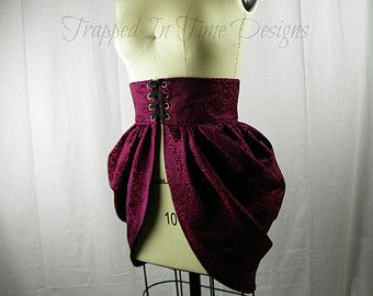 steampunk dominatrx | Bustle, Steampunk Bustle, Victorian Bustle, Side Bustle ...