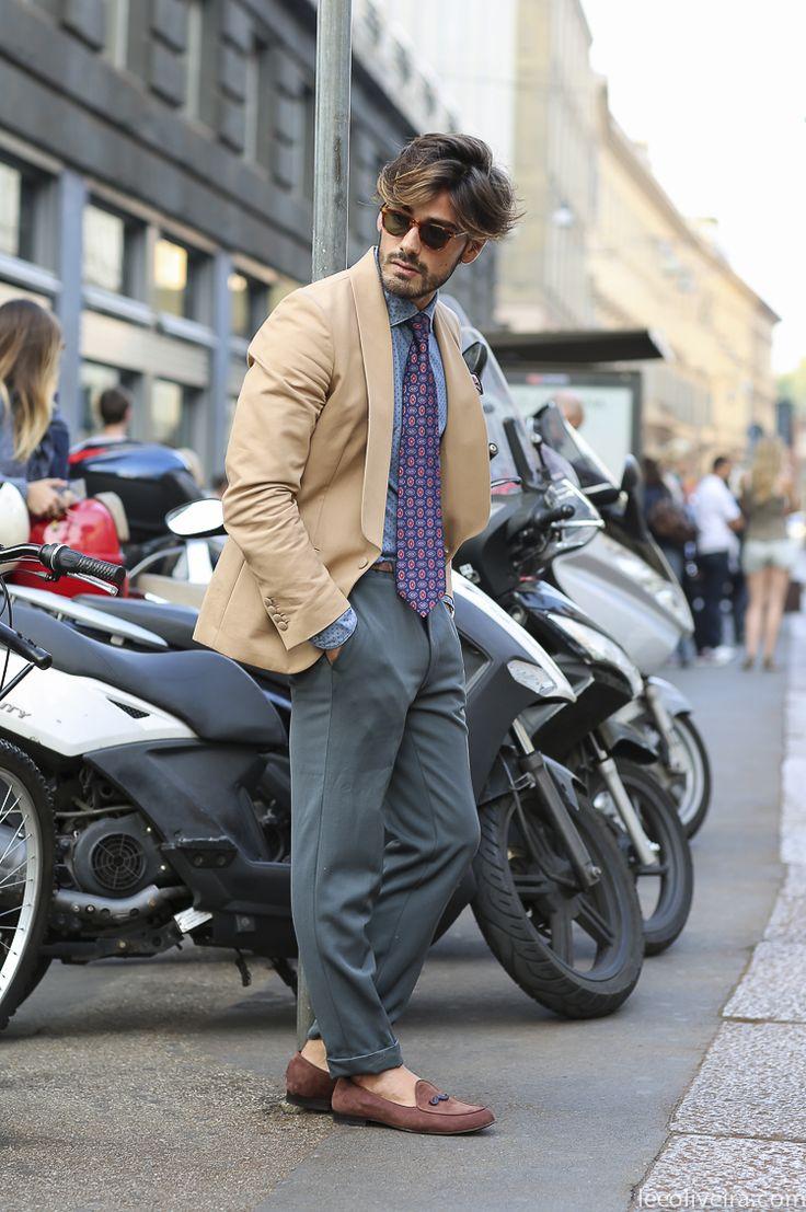 Gentlemen's Style in Milan #menswear