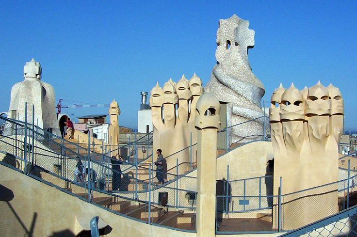 Gaudi was part of the Modernist period. Which reached its peak in popularity during his time.