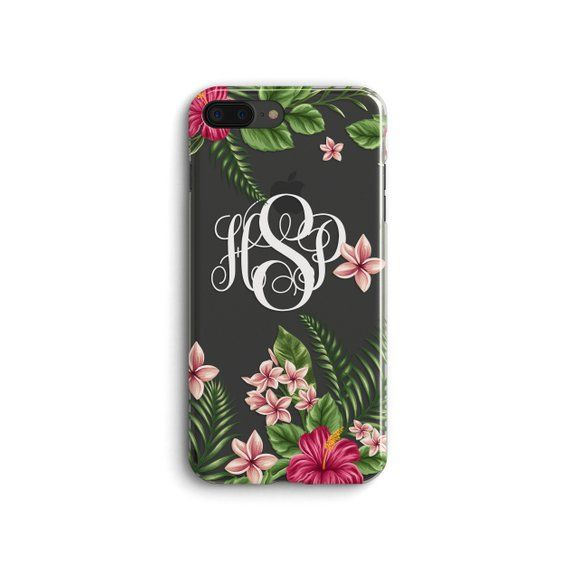 iPhone 11 case Floral iPhone 11 Pro Max case Monogram