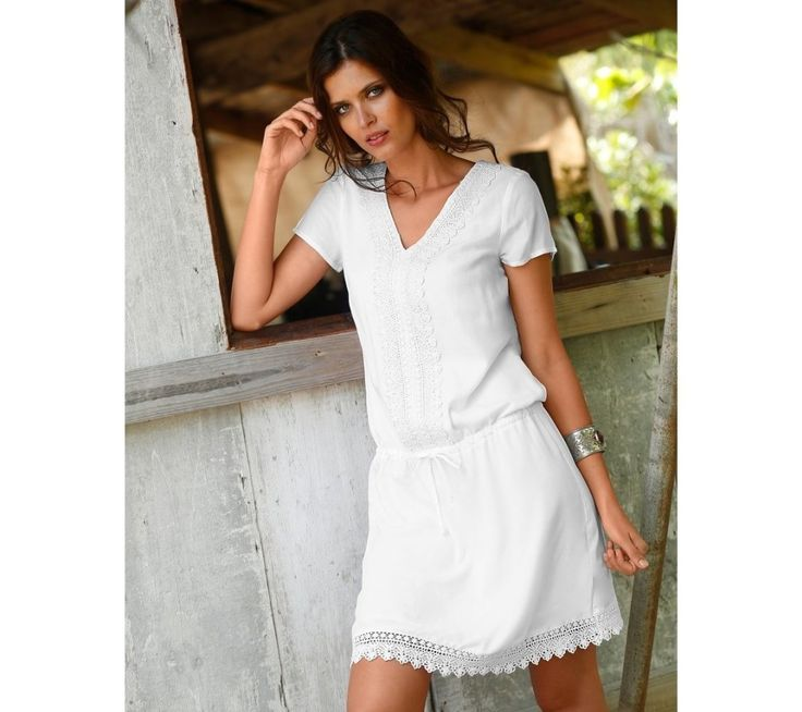 Macramé šaty   blancheporte.cz #blancheporte #blancheporteCZ #blancheporte_cz #dress #saty