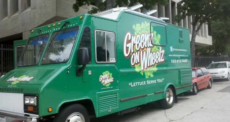 Find Greenz On Wheelz On Your Food Truck Finder To Discover Great Corporate Catering