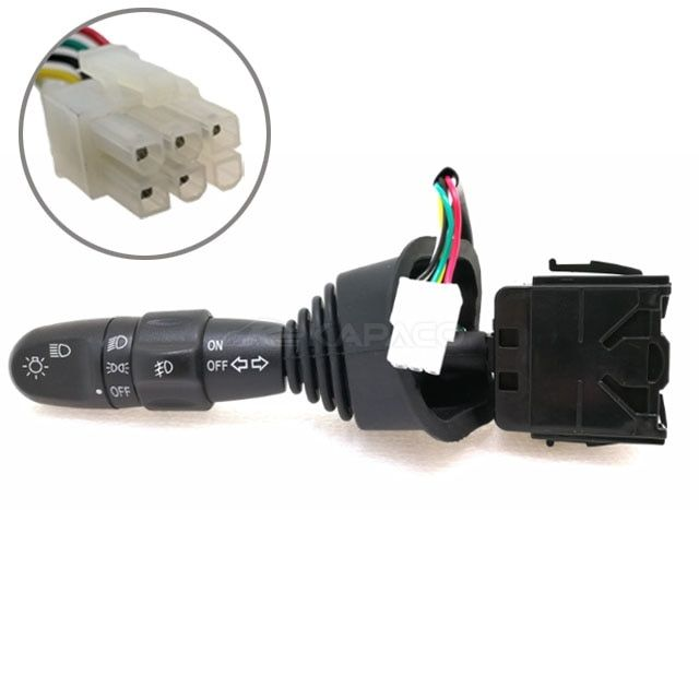 Turn Signal Headlight Lever Multi Function Switch 96387324 For