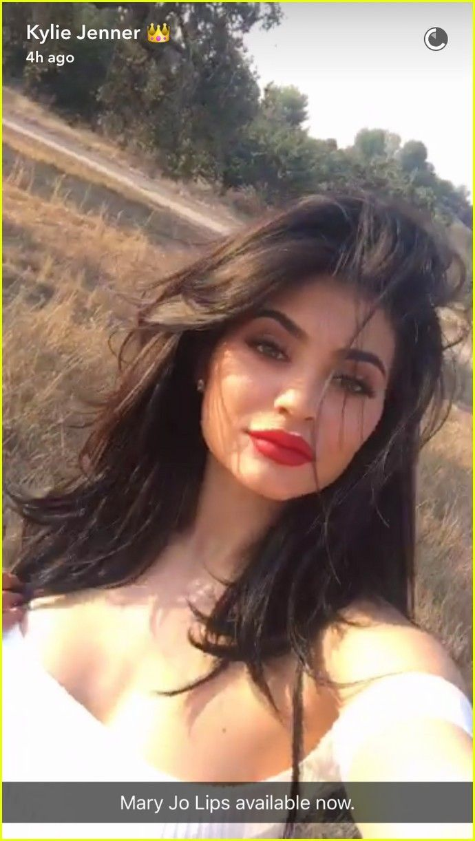 Kylie Jenner Credits Her Period for Her Enlarged Breasts
