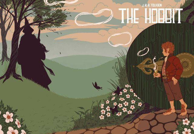 Парочка неплохих иллюстраций от Сары Кипин Властелин Колец, Толкин, Иллюстрации, длиннопост