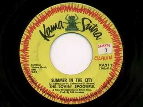 "On last night's #MadMen, Glen asks Sally if she's bought ""The Spoonful"" album yet. He's talking about The Lovin' Spoonful. By August 1966, the band had reached no. 1 on the Billboard Hot 100 with their awesome-sauce song, ""Summer in the City,"" which makes reference to the ""back of my neck feeling dirty and gritty."" Sally, little genius that she is, knows that Glen will get this reference when she makes her ""dirty"" proclamation about Manhattan."