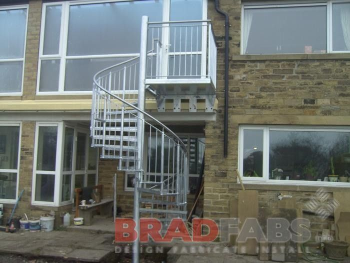 Best Spiral Staircase In Mild Steel And Galvanised Spiral 400 x 300