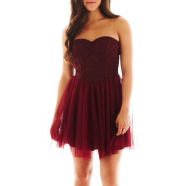 Speechless Sweetheart Tulle Dress  found at @JCPenney